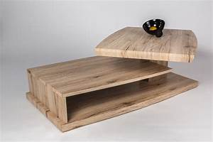 Table Basse Design Bois : table basse design bois table de salon pas cher trendsetter ~ Teatrodelosmanantiales.com Idées de Décoration