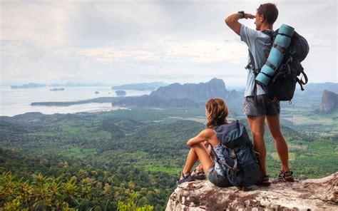backpackers travel aesthetic  sport hd wallpaper
