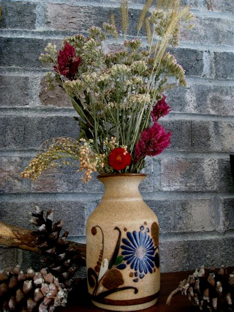 Dried Flower Arrangements In Vases by Dried Flowers The Crafty Garden