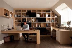 home office interiors como oak fitted home office furniture by sharps