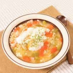 もち 麦 スープ