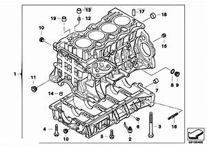Original Parts For E91 318i N46 Touring    Engine   Engine