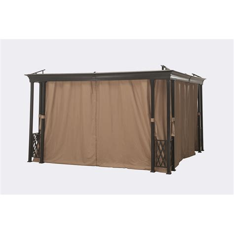 curtains for gazebo outdoor curtains for the gazebo