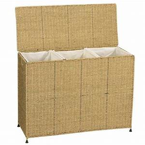 Shop Household Essentials Wicker Basket or Clothes Hamper