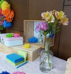 Deco Table Anniversaire 60 Ans : une d co d 39 anniversaire color e 60 ans ~ Dallasstarsshop.com Idées de Décoration