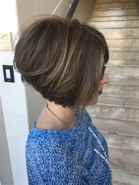 25 best ideas about stacked bob short pinterest longer stacked bob pixie bob haircut and