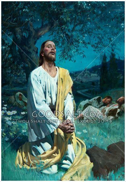 christ prays  gethsemane