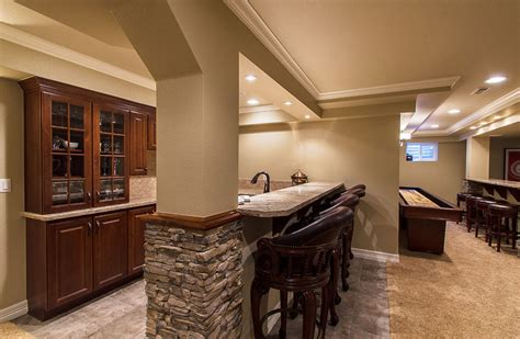 Cheap Kitchen Makeover Ideas - fascinating basement remodeling ideas for small spaces elegant small basement remodeling ideas