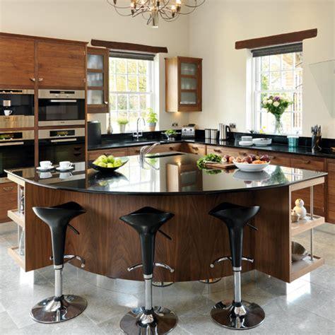 walnut kitchen island take a tour around a smart walnut kitchen ideal home 3345
