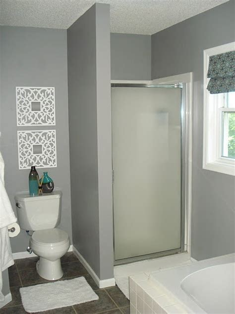glidden granite gray bathroom bathroom ideas