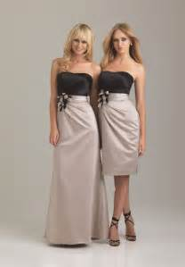 bridesmaid wedding dresses whiteazalea bridesmaid dresses chagne colored bridesmaid dresses