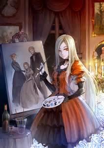 Victorian Anime Girl Vampire