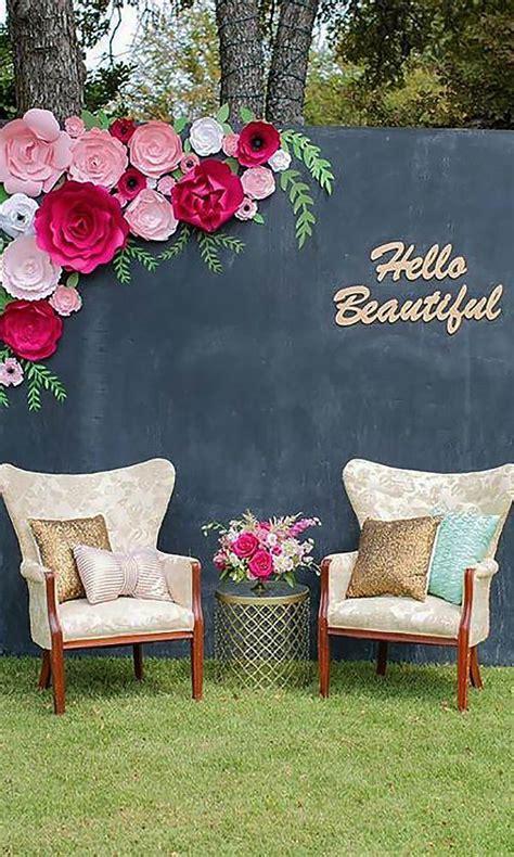 21 chic wedding flower decor ideas reception details
