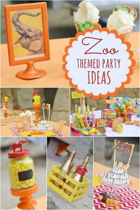 birthday party ideas and tips guest post mimi 39 s a terrific zoo themed boy 39 s birthday party spaceships
