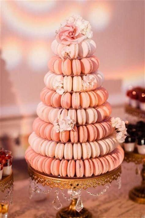 sweet macaroon wedding cake ideas  dazzle  guests