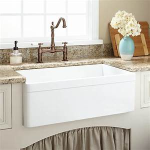 30quot baldwin fireclay farmhouse sink decorative lip ebay With decorative farmhouse sinks