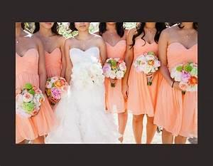 1000 idees sur le theme robes de demoiselle d39honneur With robe demoiselle d honneur peche