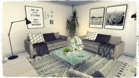 grey deco livingroom  dinha gamer sims  updates