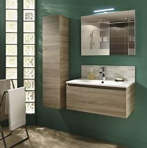 Meuble haut salle de bain brico depot for Caisson meuble salle de bain brico depot