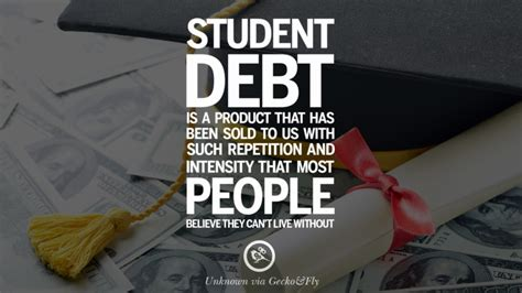 quotes  college student loan  debt forgiveness