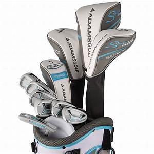 Adams Womens Lavender Speedline Super S Complete Golf Club ...