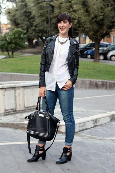 Blacku0026White un outfit rock con i miei nuovi cut out boots | Le FreakS - Fashion Blogger Roma