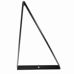Etagere Murale Triangle : equerre triangle noir cleaver castorama ~ Teatrodelosmanantiales.com Idées de Décoration