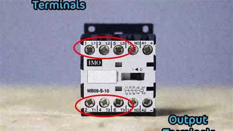 how to wire a magnetic contactor