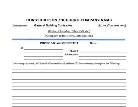 The Top 6 Free Construction Estimate Templates