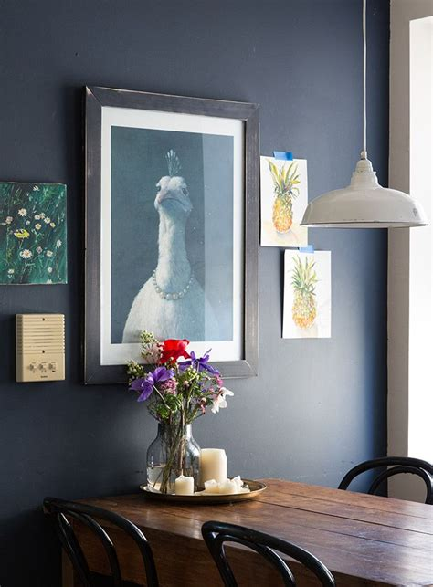 striking navy blue paint colors   room makeover