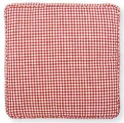 Red Gingham Seat Pad www.perfectlyboxed.com