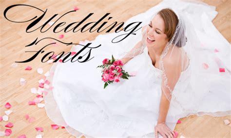 wedding fonts    dotcave