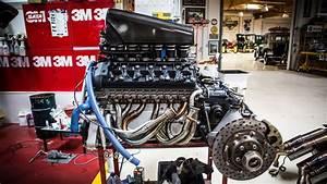 Engine Extraction  Mclaren F1 - Jay Leno U0026 39 S Garage