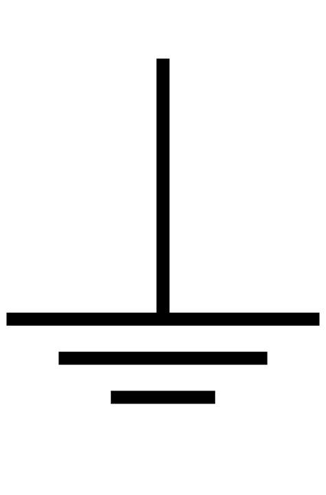 ground wire symbol wiring diagram