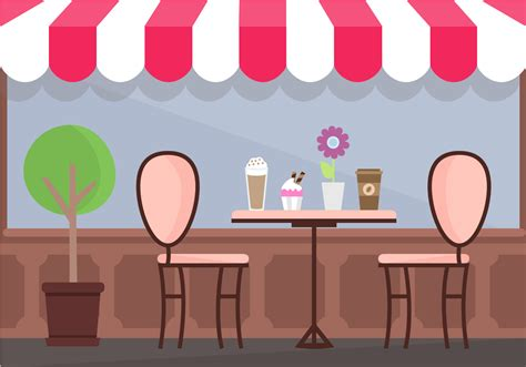 Download coffee shop cartoon images and photos. Coffee Shop Vector - Download Free Vector Art, Stock ...