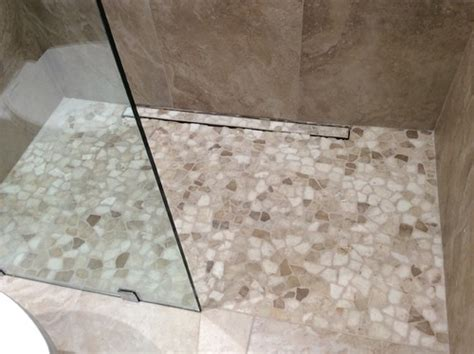 new shower floor seal or not to seal