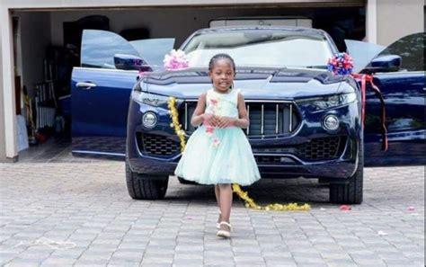 rich kid  malawi bushiri buys daughter km car  birthday gift malawi nyasa times