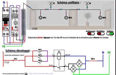 Schema Cablage Telerupteur Hager