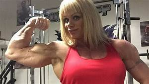 45 Years Young Cathy Lefrancois - Big Female Muscle