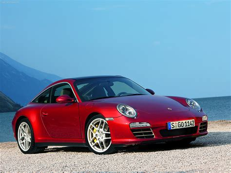 red porsche 2009 red porsche 911 targa 4 wallpapers