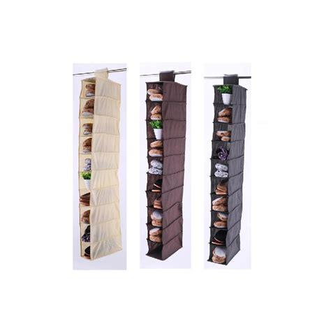shoe rack ebay 10 section hanging shoe rack organiser storage stand ebay