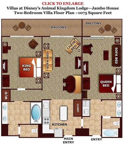Disney Deck Plan Laundry by Photo Tour One Bedroom Villa Bath Master Bedroom Space