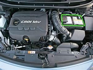 Hyundai I30 Car Battery Location