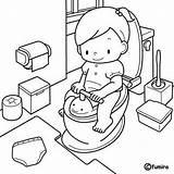 Training Coloring Potty Toilet Cartoon Juan San Dibujos Clipart Picasa Drawing Actividades Infantiles Preescolar Ninos Shower Watercolor Train Template Clip sketch template