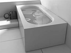 Freistehende Badewanne Mineralguss : freistehende badewanne sassari aus mineralguss wei gl nzend 180x93x55 eckig modern duo ~ Sanjose-hotels-ca.com Haus und Dekorationen