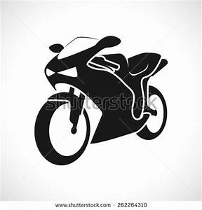 Motorcycle Silhouettes Clip Art (85+)