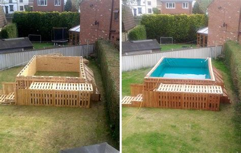 How To Build The Coolest Looking 'pallet Swimming Pool