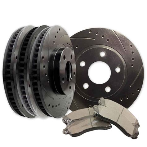 Land Cruiser Fzj80 Slotted Rotors And Brake Pads Front And