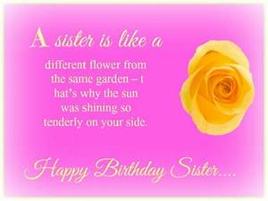 Birthday Quotes... Cute Sister Bday Quotes
