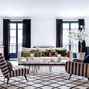 salon exotique design nos plus belles inspirations With tapis berbere avec canapé cuir noir design